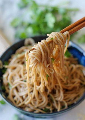 Cannabis Peanut Sesame Noodles